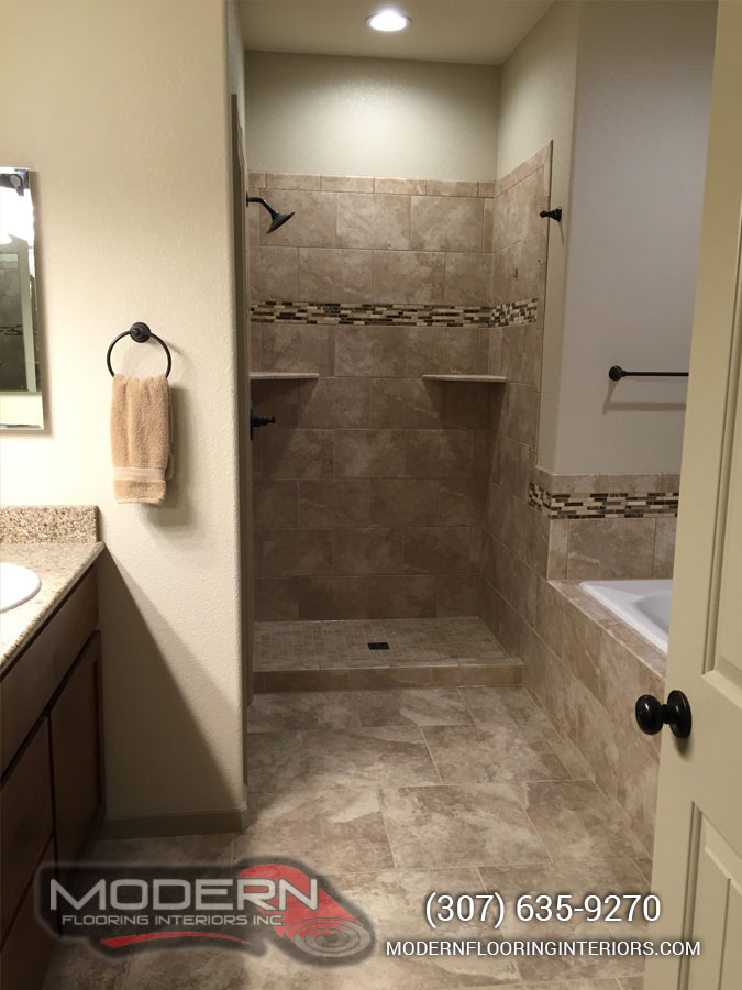 Tile Cheyenne WY Modern Flooring Interiors Flooring Carpet - Bathroom remodel cheyenne wy
